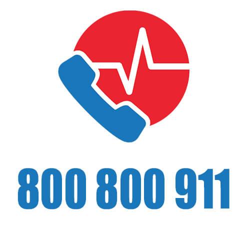 Teléfono Emergencia Help - Ambulancia de Rescate Médico